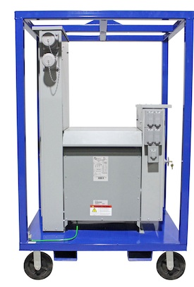 Larson Electronics 3-phase Power Distribution System