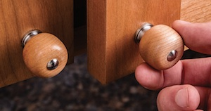 Rockler Cabinet Pull and Knob Turning Kits - Contractor