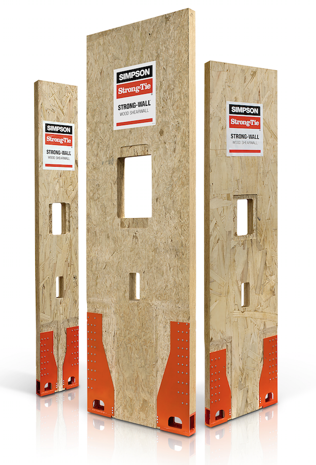 Simpson Strong Wall Wood Shearwall Contractor Supply