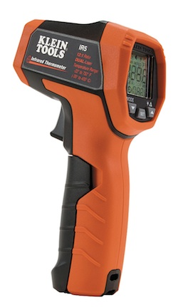 Klein Tools 12:1 Dual-Laser Infrared Thermometer
