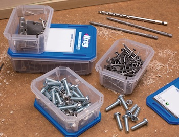 Kreg Screw Organizer and Hardware Containers - Contractor Supply