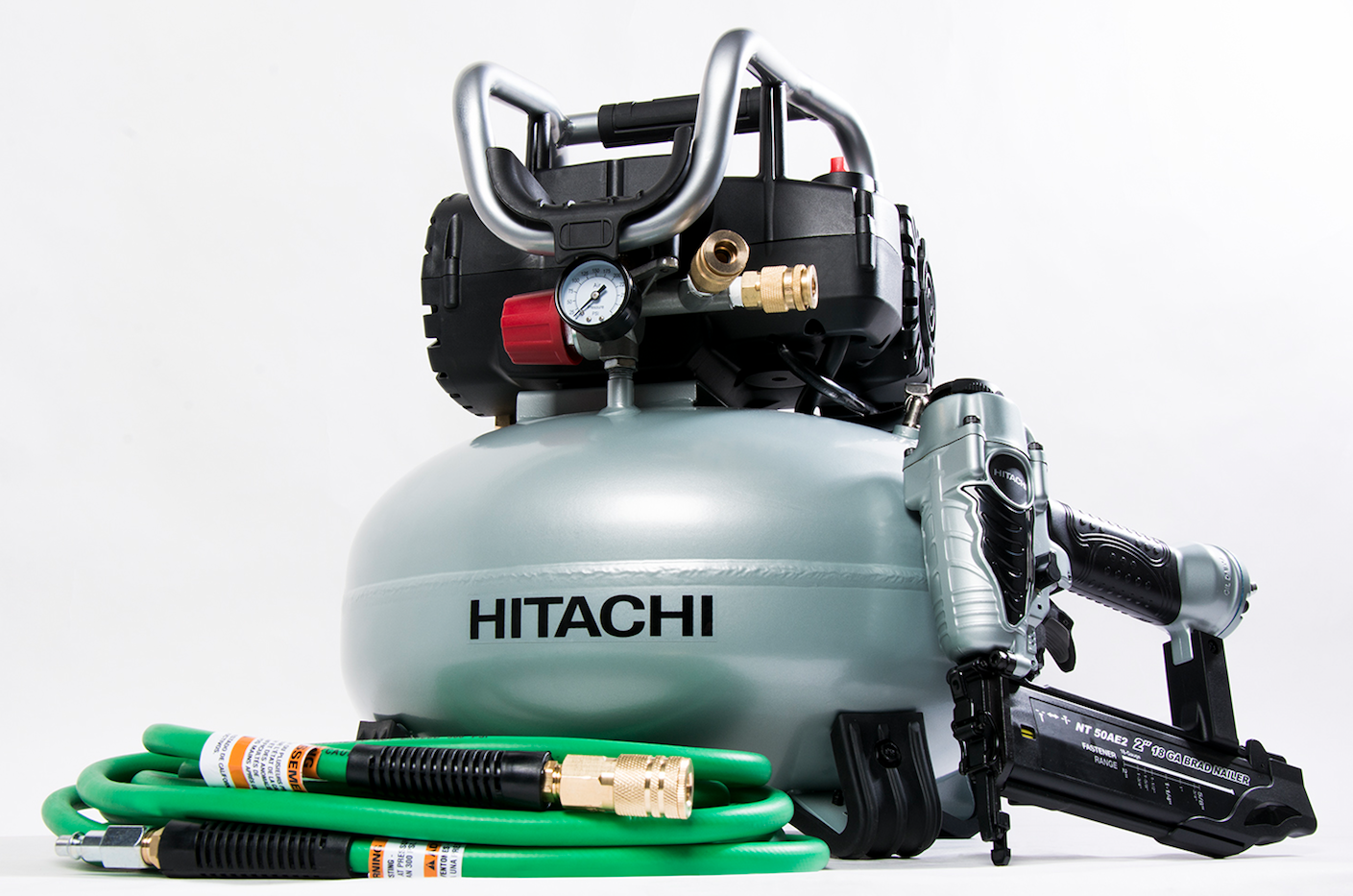 Hitachi Knt50ab Professional Finish Combo Kit Contractor