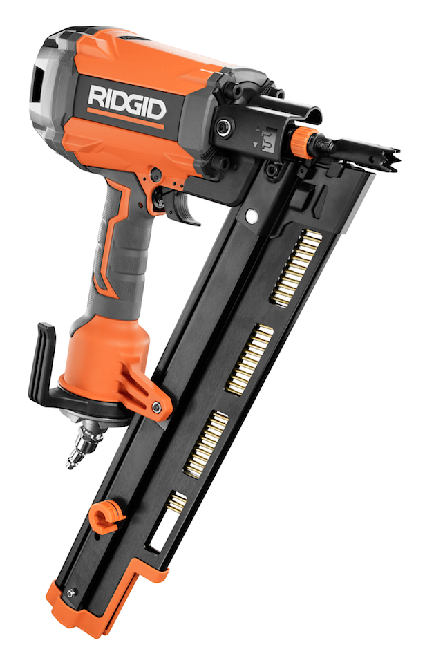 RIDGID R350RHF 21 Degree Round Head Framing Nailer - Contractor ...