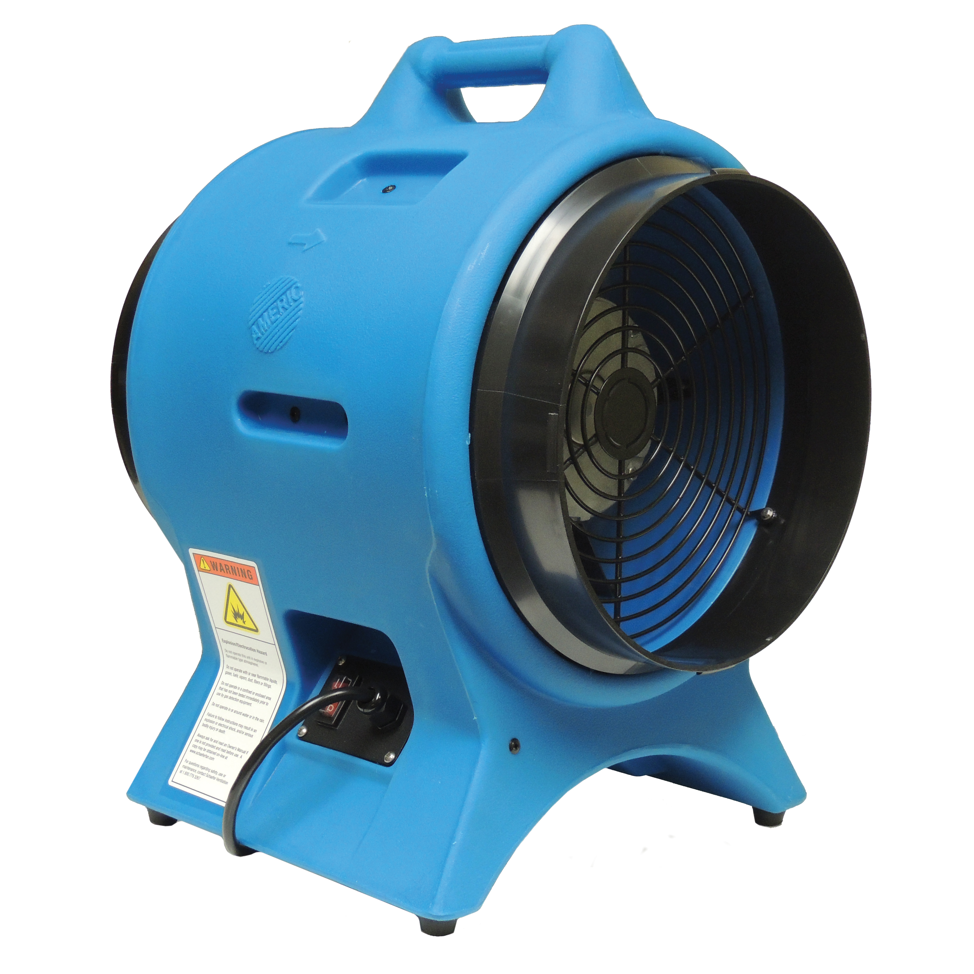 Confined Space Ventilation : Pinnacle americ two speed confined space ventilator