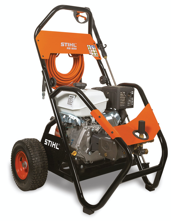 STIHL RB 600 and RB 800 Pressure Washers