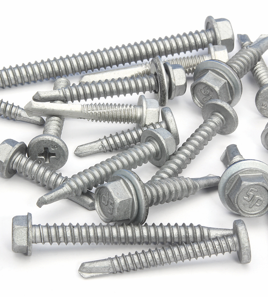 Intercorp Strong-Shield Coated Self-Drilling Screws