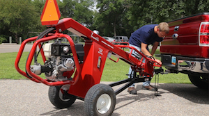 Little Beaver Towable Hydraulic Earth Drill