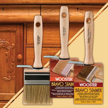 Wooster 2 3/4-inch Bravo Stainer Brush