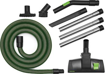 Festool Extension Pipes and Cleaning Sets for CT Dust Extractors