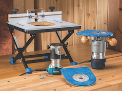 Rockler convertible benchtop router table contractor supply magazine rockler convertible benchtop router table greentooth Images