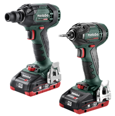 Metabo 18V Impact Driver and Impact Wrench