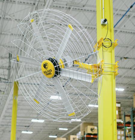 Big Ass Pivot 2 0 Fan Contractor Supply Magazine