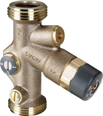 Viega Balancing Valve Improves Residential Water Circulation