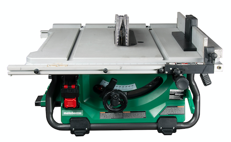 Metabo HPT C3610DRJQ4 10 Inch Cordless/Corded Table Saw