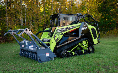 ASV RT-120 Forestry Green Beast Compact Loader