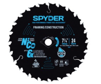 Spyder Products NiCo Circular Saw Blades