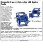 Coxreels Brawny Option for 100 Series Reels