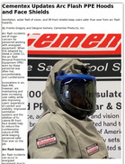 Cementex Updates Arc Flash PPE Hoods and Face Shields