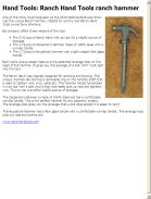 Ranch Hand Tools Ranch Hammer