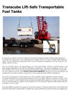 Transcube Lift-Safe Transportable Fuel Tanks