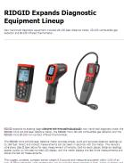 RIDGID Expands Diagnostic Equipment Lineup