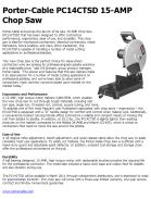 Porter-Cable PC14CTSD 15-AMP Chop Saw
