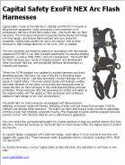 Capital Safety ExoFit NEX Arc Flash Harnesses