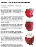 Reasor Can & Bucket Warmers