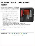 PB Swiss Tools 8220 PC Repair Toolkit