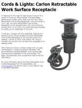 Cords U0026 Lights: Carlon Retractable Work Surface Receptacle   Contractor  Supply Magazine