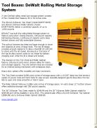 Tool Boxes Dewalt Rolling Metal Storage System