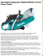 Makita EK6101 14 Inch Power Cutter