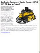 Wacker Neuson CRT 48-35V-PS Ride-on Trowel