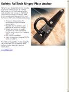 News - 2015.04.21 Safety: FallTech Ringed Plate Anchor