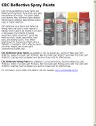 CRC Reflective Spray Paints