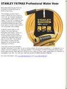 STANLEY FATMAX Professional Water Hose