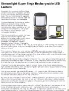 Streamlight Super Siege Rechargeable LED Lantern