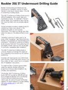Rockler JIG IT Undermount Drilling Guide