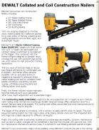 DEWALT Collated and Coil Construction Nailers
