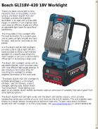 Bosch GLI18V-420 18V Worklight