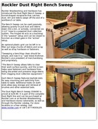 Rockler Dust Right Bench Sweep