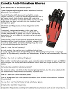 Eureka Anti-Vibration Gloves
