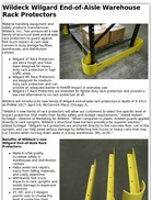 Wildeck Wilgard End-of-Aisle Warehouse Rack Protectors
