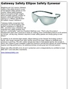 Gateway Safety Ellipse Safety Eyewear