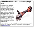 BN Products BNCE-20-24V Cutting Edge Saw