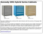 Kennedy HMS Hybrid Series Cabinets