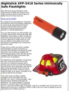 Nightstick XPP-5418 Series Intrinsically Safe Flashlights