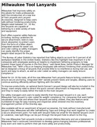 Milwaukee Tool Lanyards