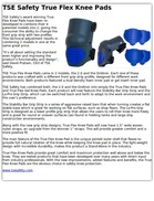 TSE Safety True Flex Knee Pads