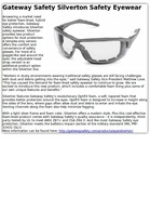 Gateway Safety Silverton Safety Eyewear